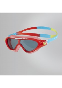 Speedo Biofuse Rift Junior Svømmebrille Lava Red/Japan Blue/Smoke-20