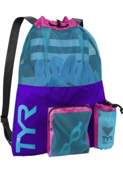 TYR Big Mesh Mummy BackPack Purple/Blu-20