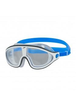 Speedo Biofuse Rift Mask Svømmebrille Bondi Blue/White/Clear-20