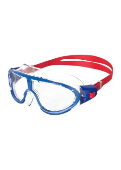 Speedo Biofuse Rift Junior Svømmebrille Lava Red/Beautiful Blue/Clear-20