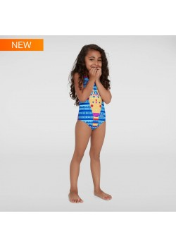 Speedo JungleGina Digital swimsuit Diva/MarineBlue Pige-20