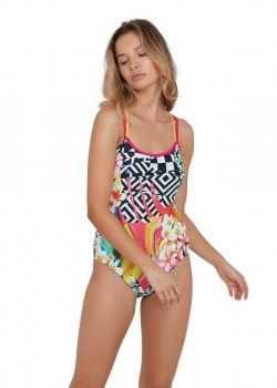 Speedo Junglejazz Placement Crossback Dame-20