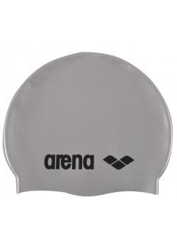 Arena classic silicone badehætte til børn Sølv-20
