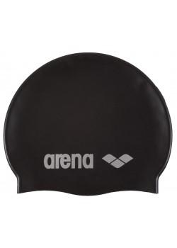 Arena classic silicone badehætte til voksne Sort-20
