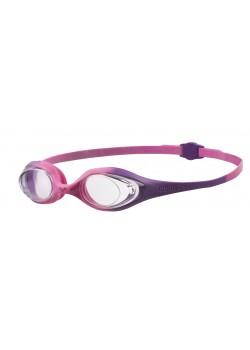 Arena Spider Junior Svømmebrille Klar linse Pink/Lilla-20