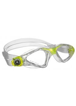 Aqua Sphere Svømmebriller Kayenne Jr Transparent/Lime-20