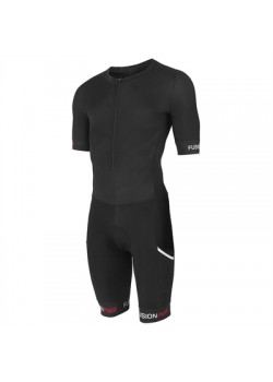 Fusion SPEED SUIT Black/Black m/ryglomme.-20