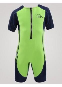 Aqua Sphere Stingray Junior svømmedragt 2mm neopren 1-12 år Grøn-20