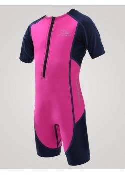 Aqua Sphere Stingray Junior svømmedragt 2mm neopren 1-12 år Pink-20