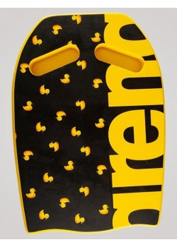Arena Training KickBoard Limited Edition Sort/Gul And-20