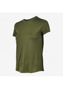 Fusion Dame C3 T-Shirt GreenMelange-20