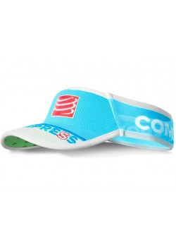Compressport UltraLight Visor V2 Fluo Blue-20