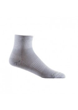 Wrightsock Quarter Løbestrømpe Coolmesh II Light Gray-20