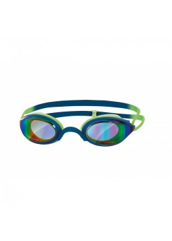 Zoggs Fusion Air Svømmebrille. Gold-Grøn/Lime-20