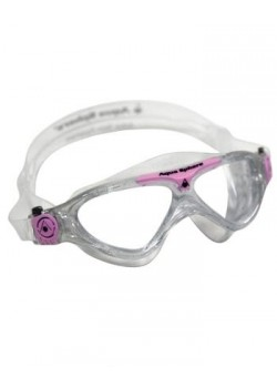 Aqua Sphere Vista Junior Svømmebrille Klar Lens Glitter/pink-20