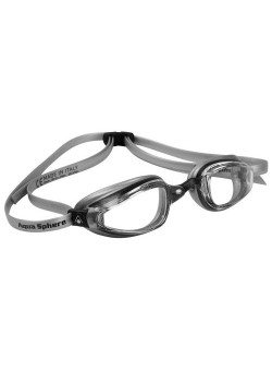 Michael Phelps K180+ Clear Lens Black/Silver-20