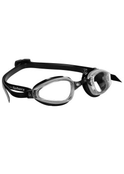 Michael Phelps K180 Clear Lens Silver/Black-20