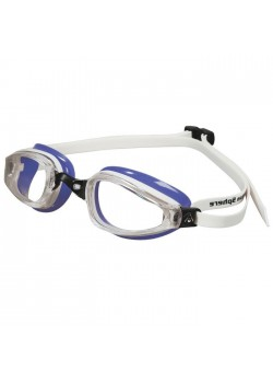 Michael Phelps K180 Clear Lens Purple/white LADIES-20