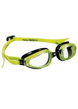 Michael Phelps K180 Clear Lens Yellow/Black-20