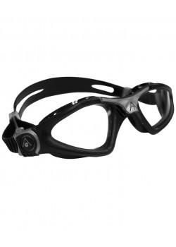Aqua Sphere KAYENNE Svømmebrille Black/Sølv Klar lense.-20