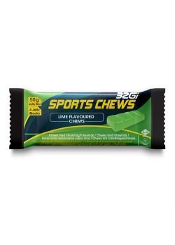 32Gi Sport Chews med lime smag 12 stk. i Kasse.-20