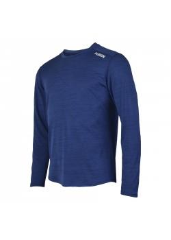 Fusion C3 Herre LS Shirt Blå-Melang-20