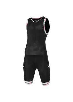 Fusion Multisport F_Zip Suit Sort/Hvid-20