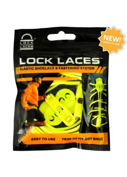 Lock Laces Snørebånd Neon Yellow-20
