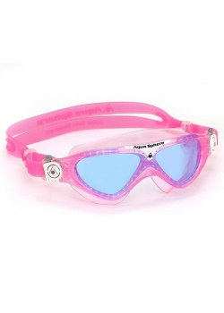 Aqua Sphere Vista Junior Svømmebrille Blue Lens Pink-20