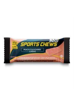 32Gi Sport Chews med fersken smag 12 Stk. i kasse.-20