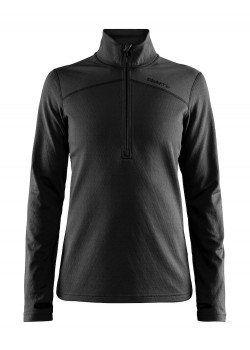 Craft Pin Halfzip Dame Sort/Black-20