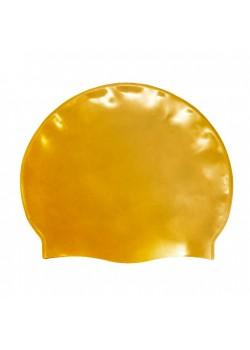 Badehætte Voksen Silicone Guld-20