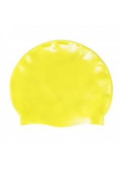 Badehætte Voksen Silicone Neon Gul-20