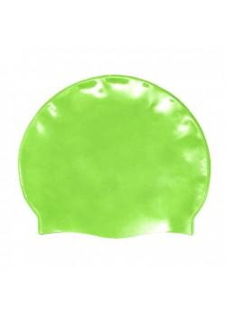 Badehætte Voksen Silicone Fluo Green-20