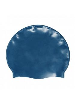 Badehætte Voksen Silicone Metal Blue-20