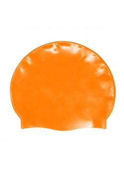 Badehætte Voksen Silicone Orange-20