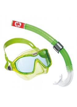 Aqua Sphere Snorkel sæt CombiMix Green-20