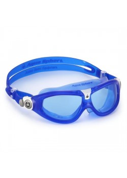 Aqua Sphere SEAL KID 2 Svømmebrille Blue Blåt Glas-20
