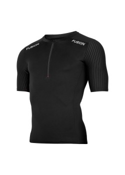 Fusion SLi Tri Top Short Sleeve Sort/Sort 2019 NYHED-20