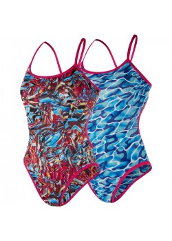 Speedo Flipturns Reverse One Piece Badedragt.-20