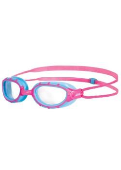 Zoggs Predator Junior Pink/Lysblå-20