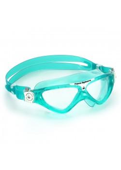 AquaSphereVistaJuniorSvmmebrilleKlarLensGrn-20
