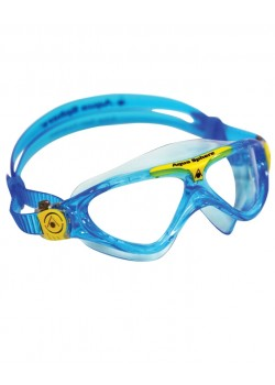 Aqua Sphere Vista Junior Svømmebrille Klar Lens Aqua/Gul-20