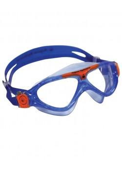 AquaSphereVistaJuniorSvmmebrilleKlarLensBlueorange-20