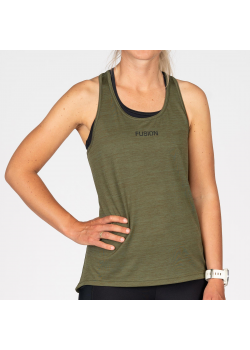 Fusion C3 Training Top Dame Green-20