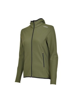 Fusion C3+ ReCharge Hoodie Grøn Dame-20