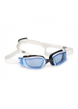 Michael Phelps Xceed Blue Lens White/Black-20