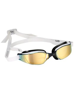 Michael Phelps Xceed Titanium Mirror White/Black Gold Edition-20