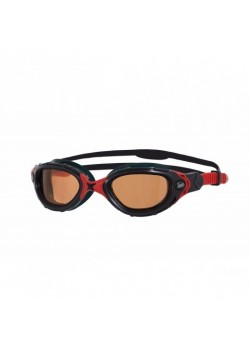 Zoggs Predator Flex Polarized Ultra Black/Red-20