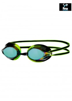 Zogga Racespex Spejllinse svømmebrille. Sort/grøn-20